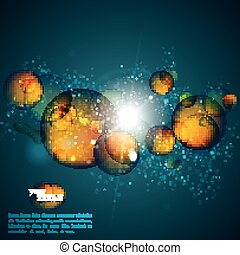 abstract amber background