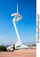 Telecommunication Tower in Barcelon - Telecommunication...