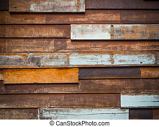 Old wood background - Old wood patch background
