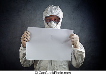 Medical Health Worker in Protective Clothing - Medical healh...