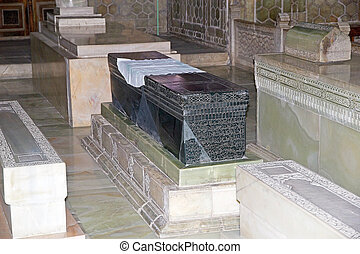 Samarkand - The Amir Timur grave at the Amir Temur...