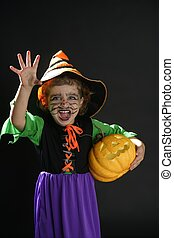 Toddler girl , halloween costume - Toddler beautiful witch...