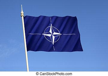 Flag of the North Atlantic Treaty Organization - NATO - Flag...
