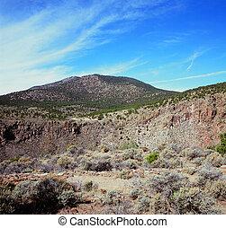 Rio Grande del Norte Nat'l Monument - A scenic vista from...