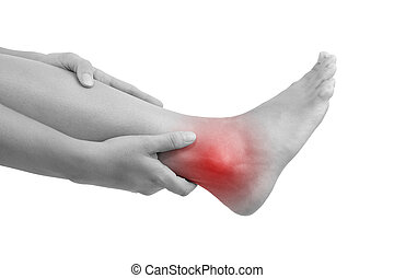 Sprained ankle - Sprained ankle, muscle injuries and muscle...