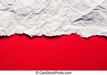 Torn Paper with space for text