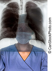 op nurse - a nurse or doctor in surgical clothing before...