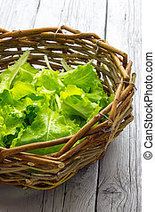 Basket of Salad