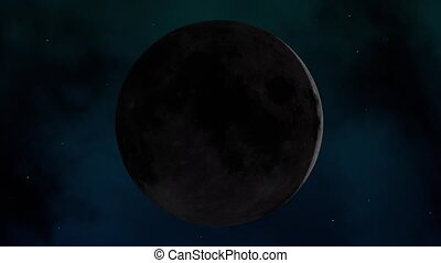 Moon (full moon cycle) - Full moon cycle (growing and waning...