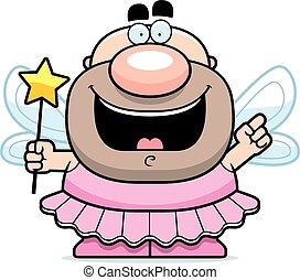 Cartoon Tooth Fairy Idea - A cartoon illustration of the...