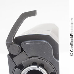 Lever - Throw lever that is open on the muzzle end of a...