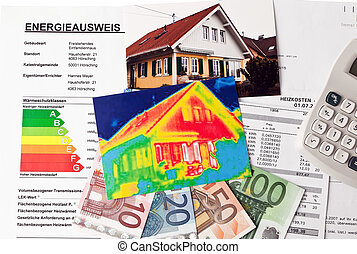 save energy house with thermal imaging camera - save energy...