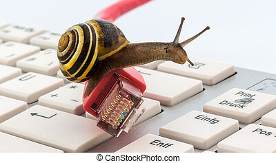 slow internet - photo icon for slow internet access....
