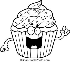 Cartoon Cupcake Idea