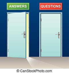 answers and questions doors