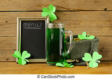 St, Patrick's, Day, green, beer,
