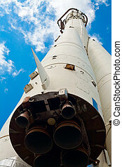 Space Rocket - The First Soviet Space Rocket Monument in...
