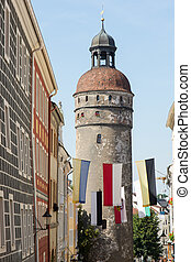 Nikolai Tower - The Nikolai tower in Goerlitz Saxony,...