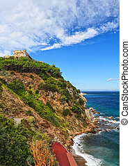 Forte Stella in Portoferraio - View of Forte stella in...