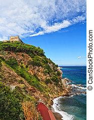 Forte Stella in Portoferraio - View of Forte stella in...