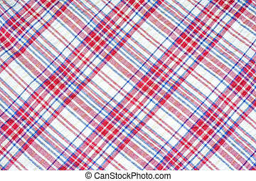 tablecloth texture (checked background)