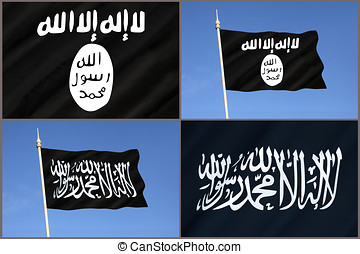 Flag of Al-Qaeda - ISIS - ISIL - Islamic State Flag - Flags...