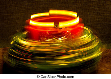 Advent wreath with speed