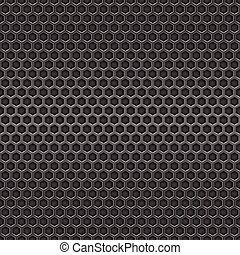 Dark metal cell seamless background