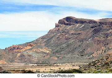 El Teide national park at Tenerife (Spain) - El Teide...