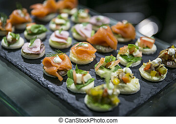 Appetizers and finger food catering - Appetizers and finger...