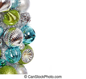 Christmas decoration isolated white. - Christmas decoration...