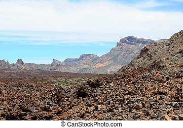 El Teide national park at Tenerife Spain - El Teide national...