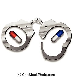 handcuffs for capsules - Article by drug use. Drug problem....