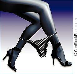 panties for calves - Shorts for women calves. Sexy girl...