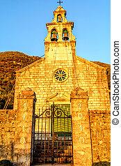 Church of Saint Maria in Tivat, Montenegro