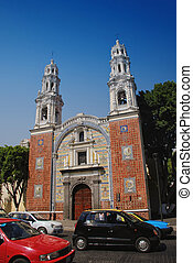 Church in Puebla - Our Lady Of Guadalupe Church, Puebla,...