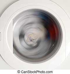 Clothes Dryer - A close up shot of a clothes dryer