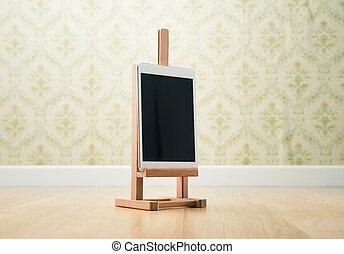 Creativity on tablet