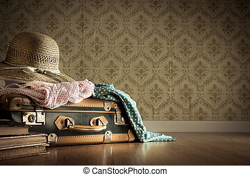 Summer holiday packing