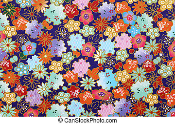 Japanese pattern origami paper - Traditional Japanese...