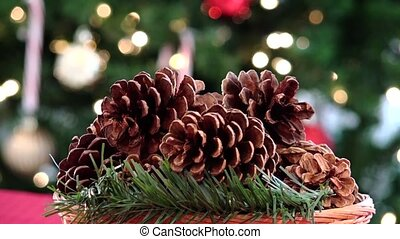 pines christmas centerpiece decor