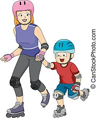 Inline Skating Lessons