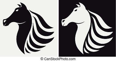 Horse icon  - Vector Illustration of Horse icon