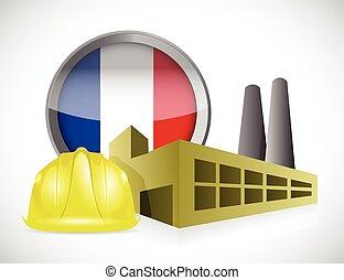 france factory illustration design