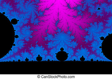 Fractal World - a digitally generated colorful fractal...