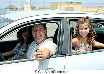 Wish to drive - Family going for long drive