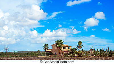 Spanish medieval country house. Place for your text.