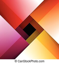 Swirly colorful shiny paper background RGB EPS 10 vector...