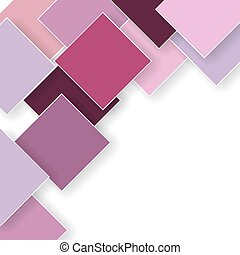 abstract pink background with rhombus