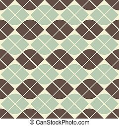 Vector geometric background, neutral abstract seamless...